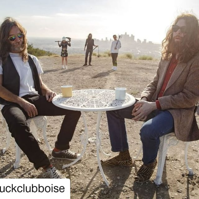 #Repost @duckclubboise • • • • • • 🤘Rock n' roll outfit @blackmountainarmy back in the Boise area at the VAC on Dec 3rd to follow up on their scorching @treefortfest 2019 Main Stage set. Tickets on-sale Friday 8/23 at 10am!