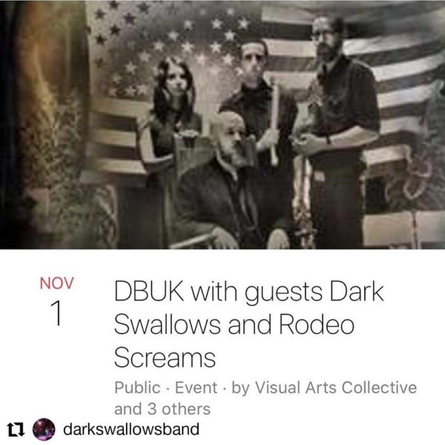#Repost @darkswallowsband• • • • • •We're doing it, buds!! 😀