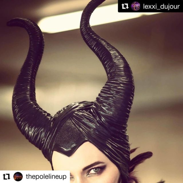 #Repost @thepolelineup• • • • • •How AMAZING does our sexy @lexxi_dujour look as Maleficent?! Take this as a sign that you need to get your tickets ASAP for Sleeping Bey-eauty! 📸: @marcyoungphotography  #Repost @lexxi_dujour with @get_repost・・・I have a thing for horns and magic. Performing in November with @thepolelineup at @vacuber check dates and link in my bio. #boisepoledance #thepolelineup